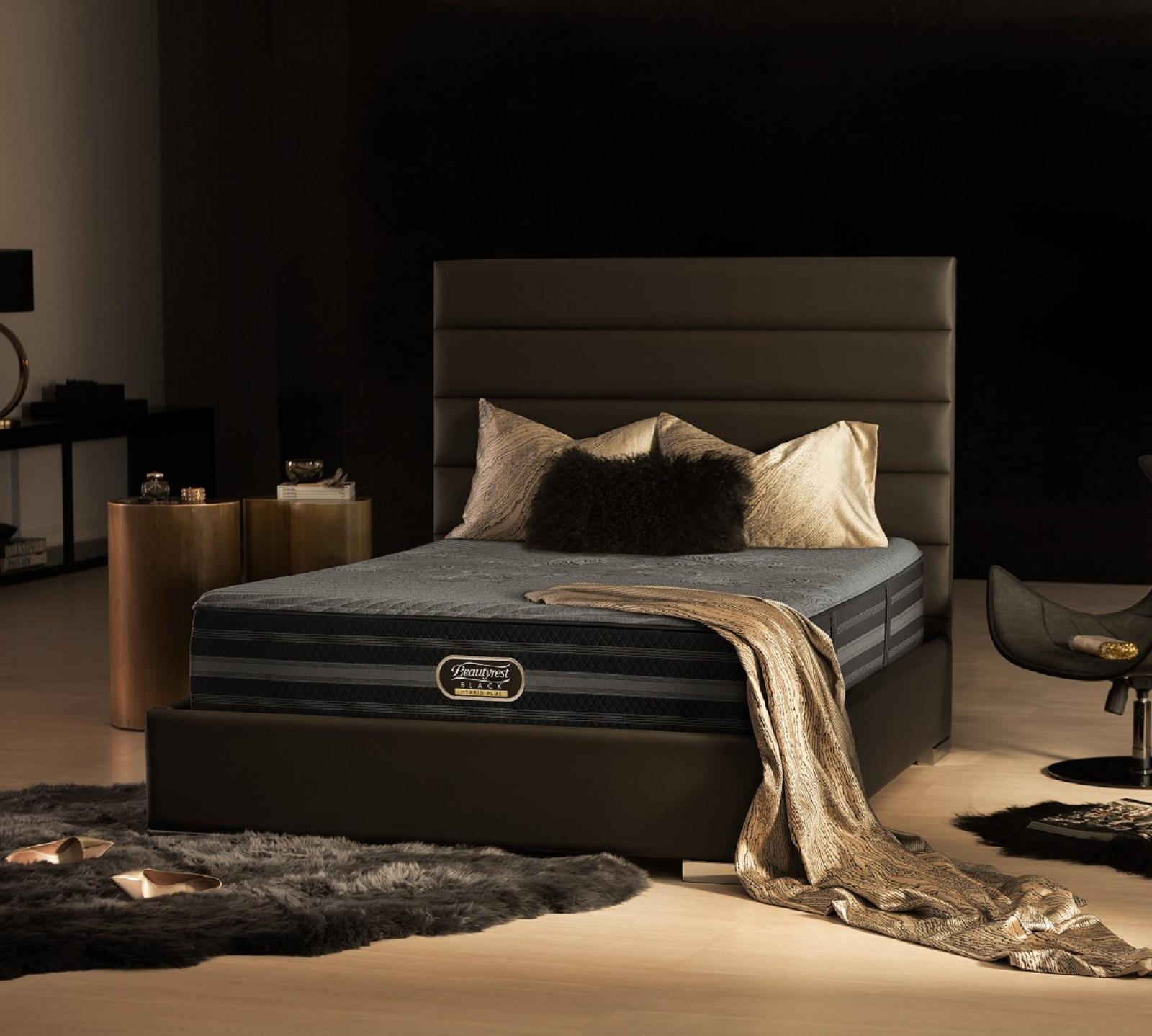 Beautyrest Black King Size Black Hybrid Plus Jennings 14 5