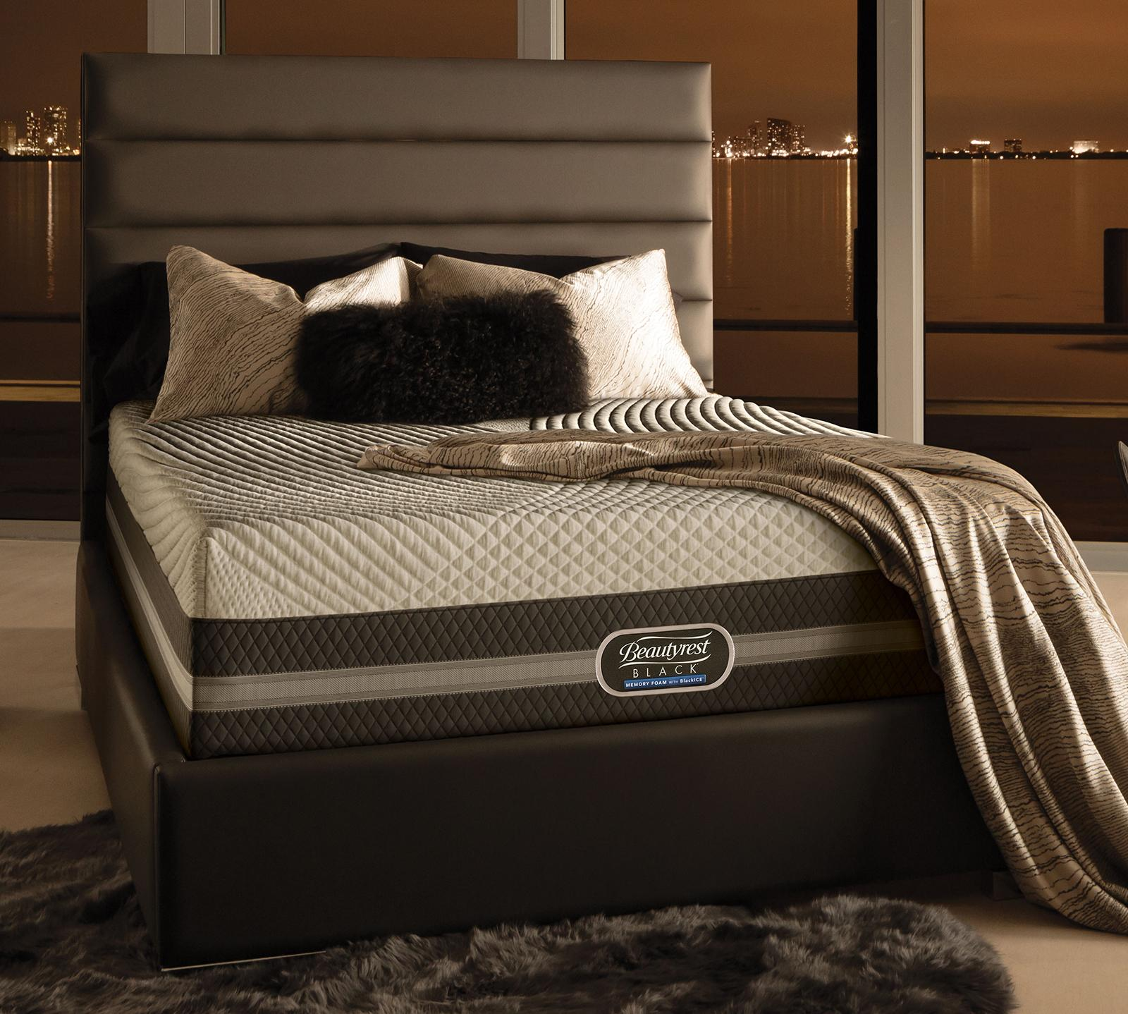 Beautyrest Black King Size Memory Foam With Blackice Nadia 14
