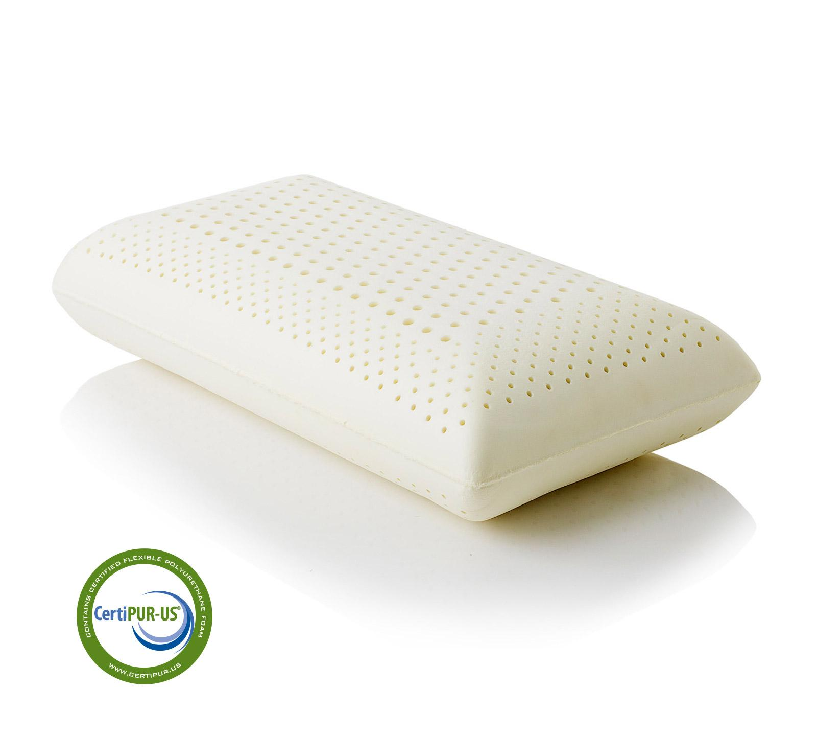 Firm Memory Foam Pillow Zoned Dough Memory Foam 6