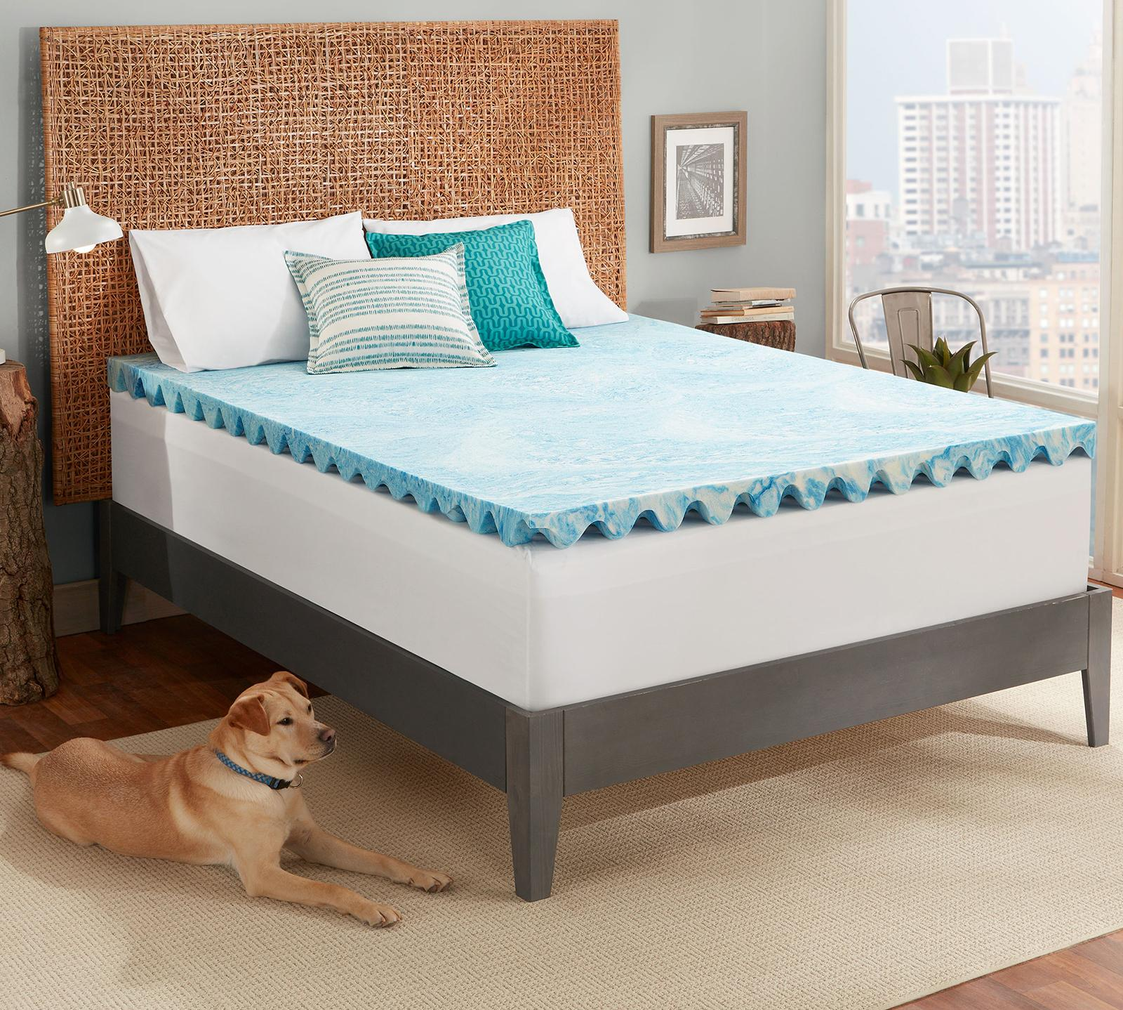 Memory Foam Mattress Toppers Cool Deluxe 3