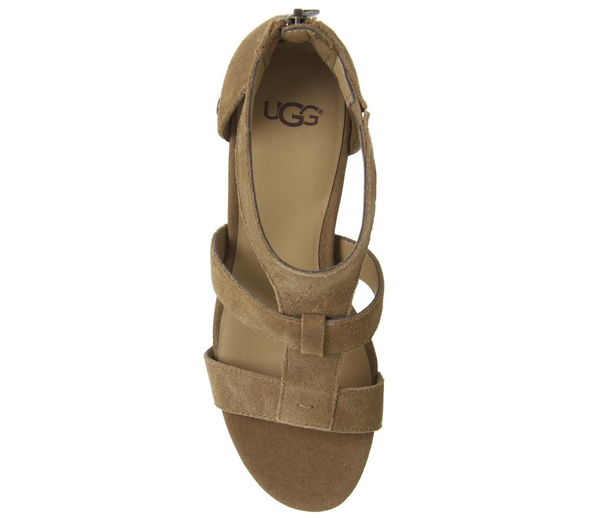 Ugg Whitney Wedges Chestnut Wedges