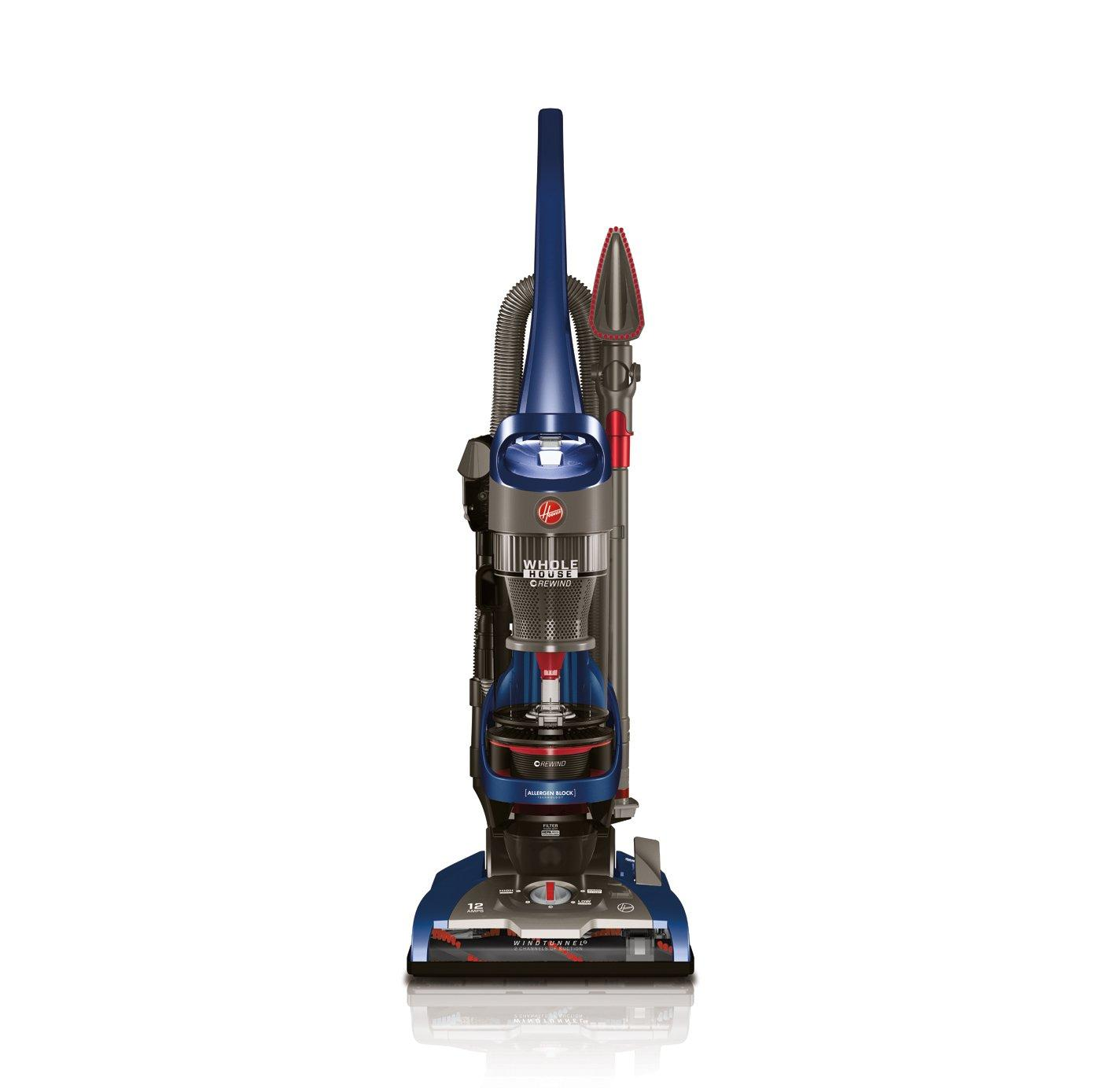 Garage Hoover Vacuum Details About Hoover Whole House Rewind Bagless Upright Vacuum Cleaner Uh71250