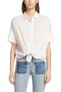 Tie Shirt   rag & bone