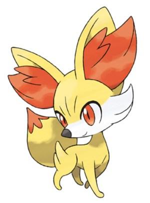 Pokemon X and Pokemon Y : Fennekin (Fire)