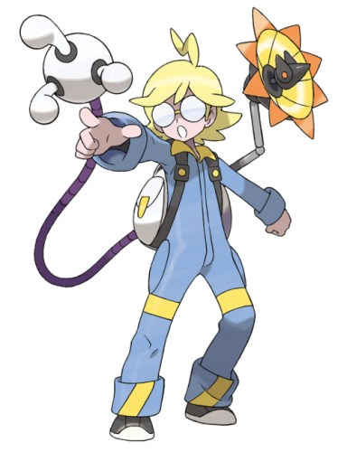 Pokemon X and Pokemon Y : Gym Leader Clemont