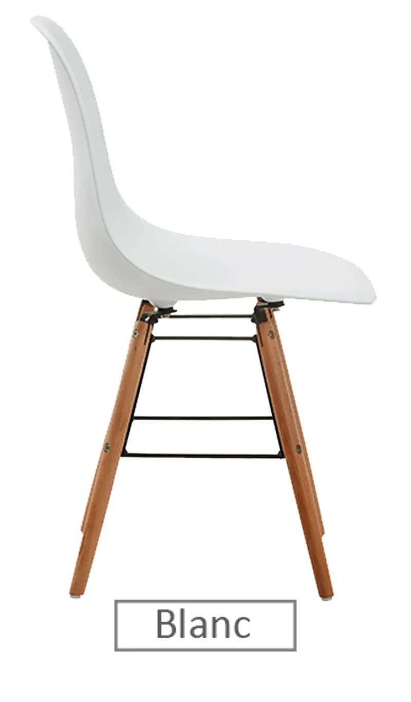 Chaise Blanche Pied Bois Chaise Scandinave Blanche Entretien