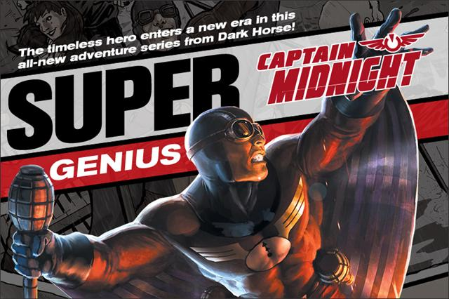 Captain Midnight is back!