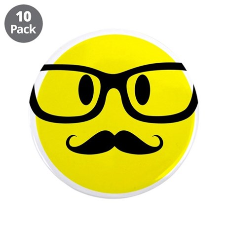Smiley Face With Glasses