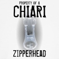 Property of A Chiari Zipperhead Throw Pillow by cowboy2023