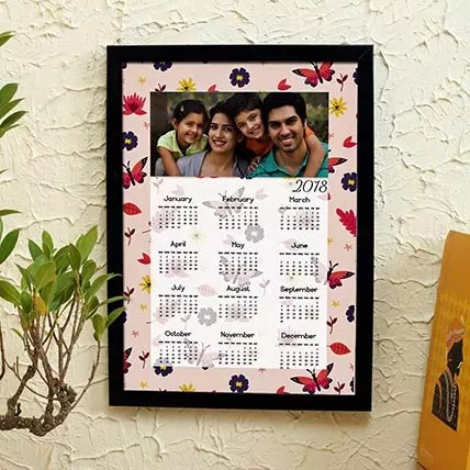 Cool Personalized Calender in uae Gift Personalised Frame with
