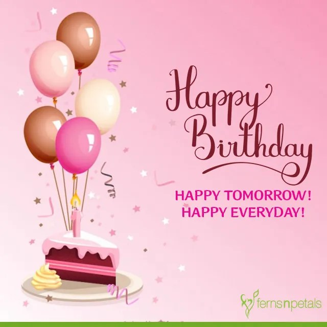 30+ Best Happy Birthday Wishes, Quotes  Messages - Ferns N Petals