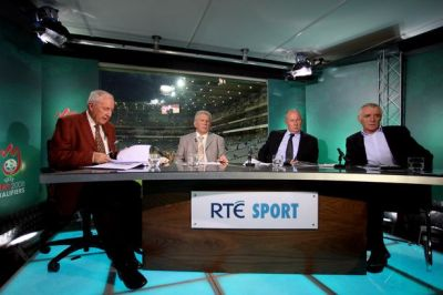 Johnny Giles says he's gutted after being dropped from the RTE panel for Saturday's match ...