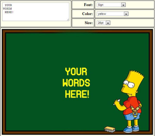 Strings Quotes Wallpaper Image 484215 Bart Simpson S Chalkboard Parodies
