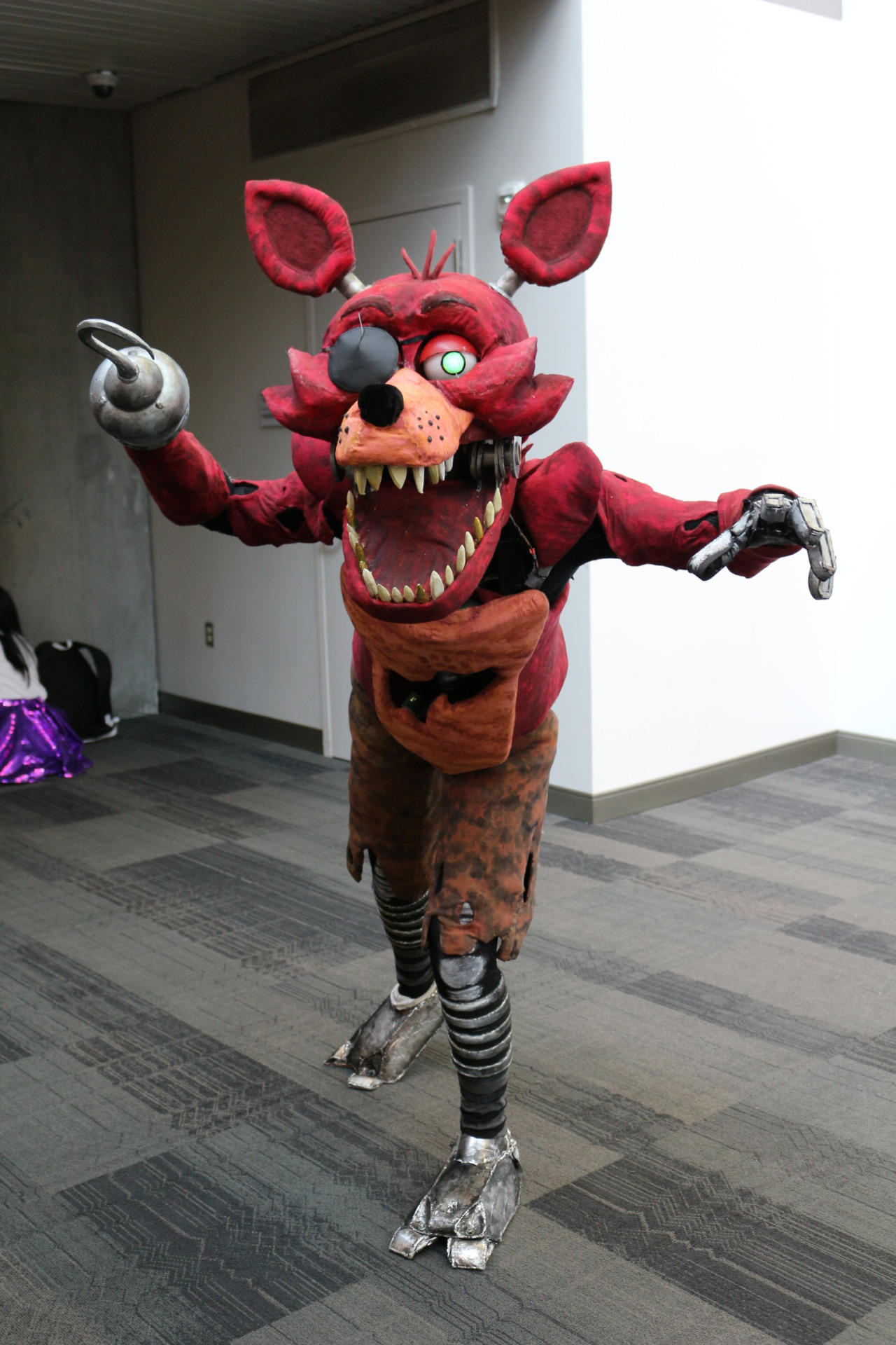 Cute Foxy Fnaf Wallpaper Foxy Cosplay Five Nights At Freddy S Know Your Meme
