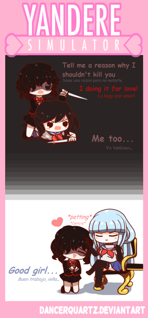 Pot Girl Wallpaper Yandere Comic Nemesis Chan Yandere Simulator Know