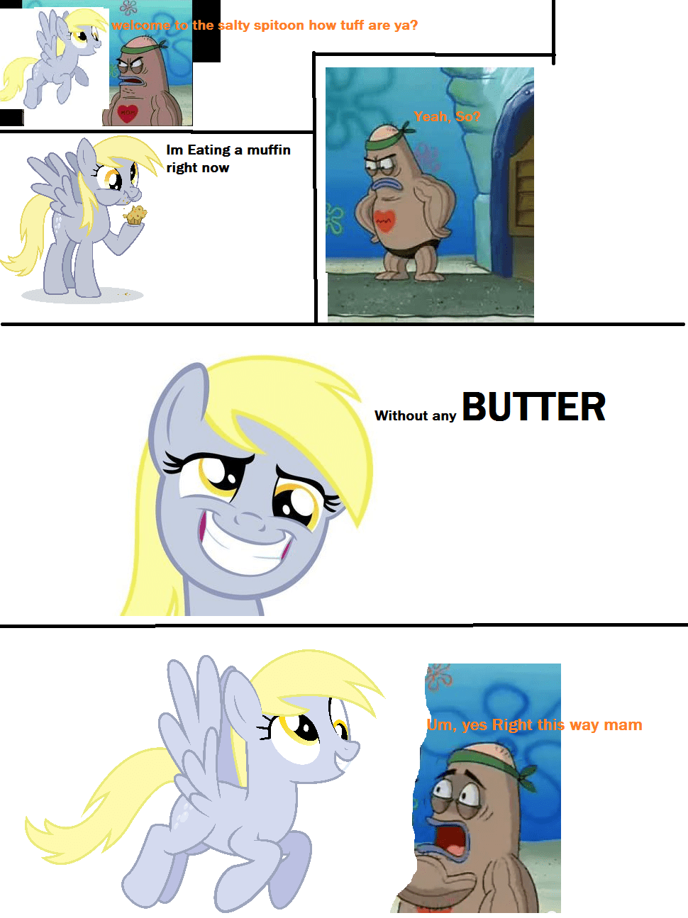 Dirty Harry Quotes Wallpaper Derpy Enters The Salty Spitoon My Little Pony