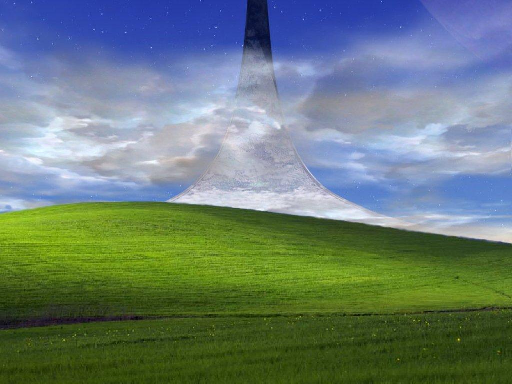 Wallpaper Gravity Falls Image 734571 Windows Xp Bliss Wallpaper Know Your Meme