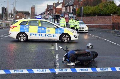 Norris Green motorbike accident: Dwerryhouse Lane ...
