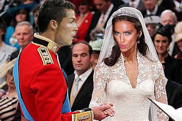 The Gallery For Gt Cristiano Ronaldos Wedding