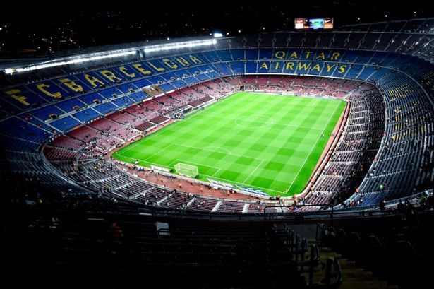 Manchester United Animated Wallpapers Barcelona S Camp Nou Stadium Could Incorporate Club