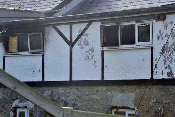fuse box fire man who burned down his own home after he sets off