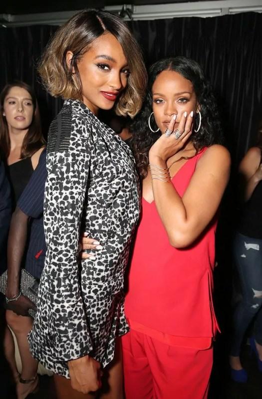 Rihanna and Jourdan dunn