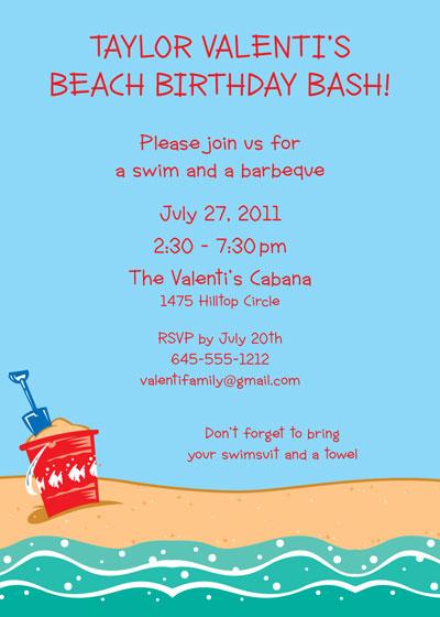 beach party invitation wording - Akbagreenw