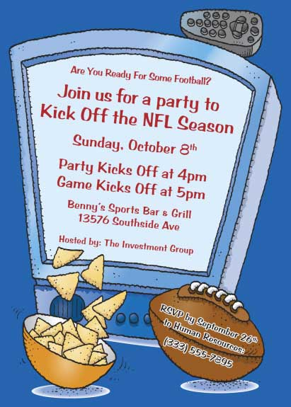 work party invitation