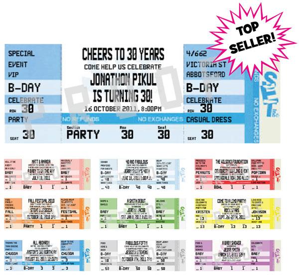 Ticket Invitations - ticket invitation