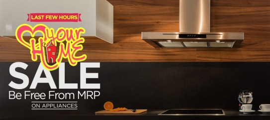 Love Your Home SALE |Be Free From MRP on Appliances