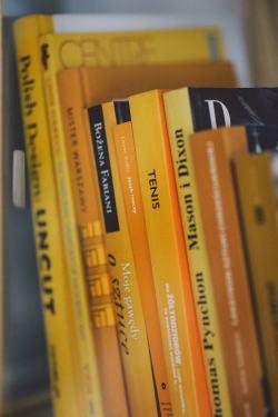 Small Of Books On A Shelf Image