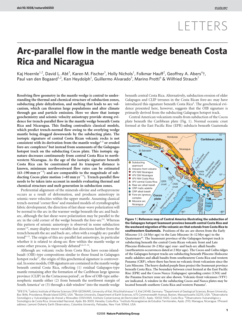 Arte Naif Nicaragua Effect Of Hydrothermal Circulation On Slab Dehydration For The