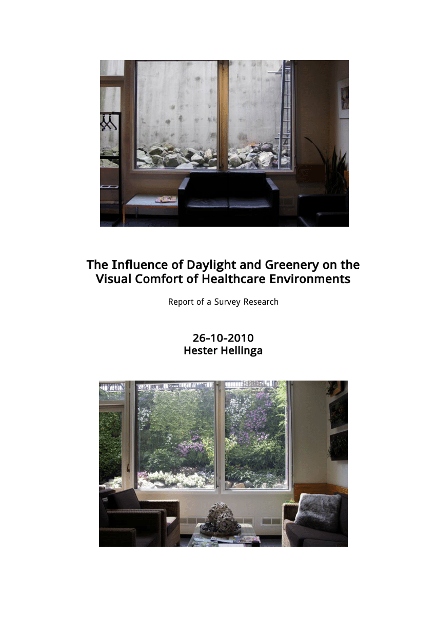 Koekoek Raam Pdf 510 Speaker Effect Of Light And Nature View On Patients And