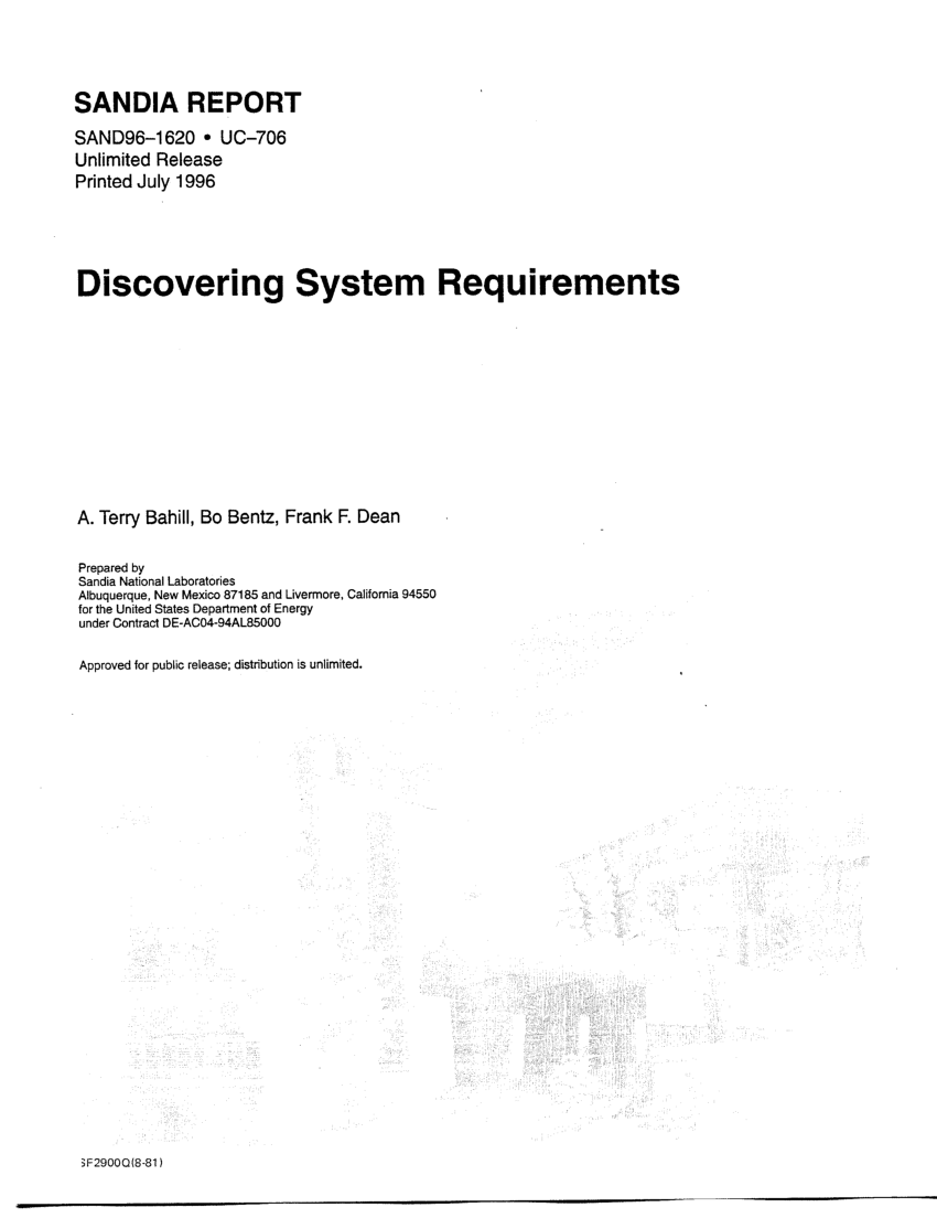 Synonym Für Freude Pdf The Illusion Of Requirements In Software Development