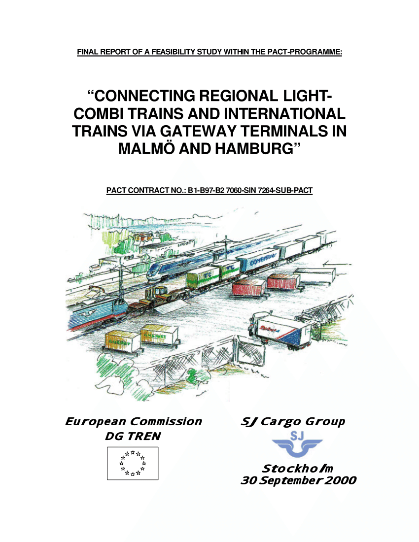 Gateway Hamburg Pdf Connecting Regional Light Combi Trains And International