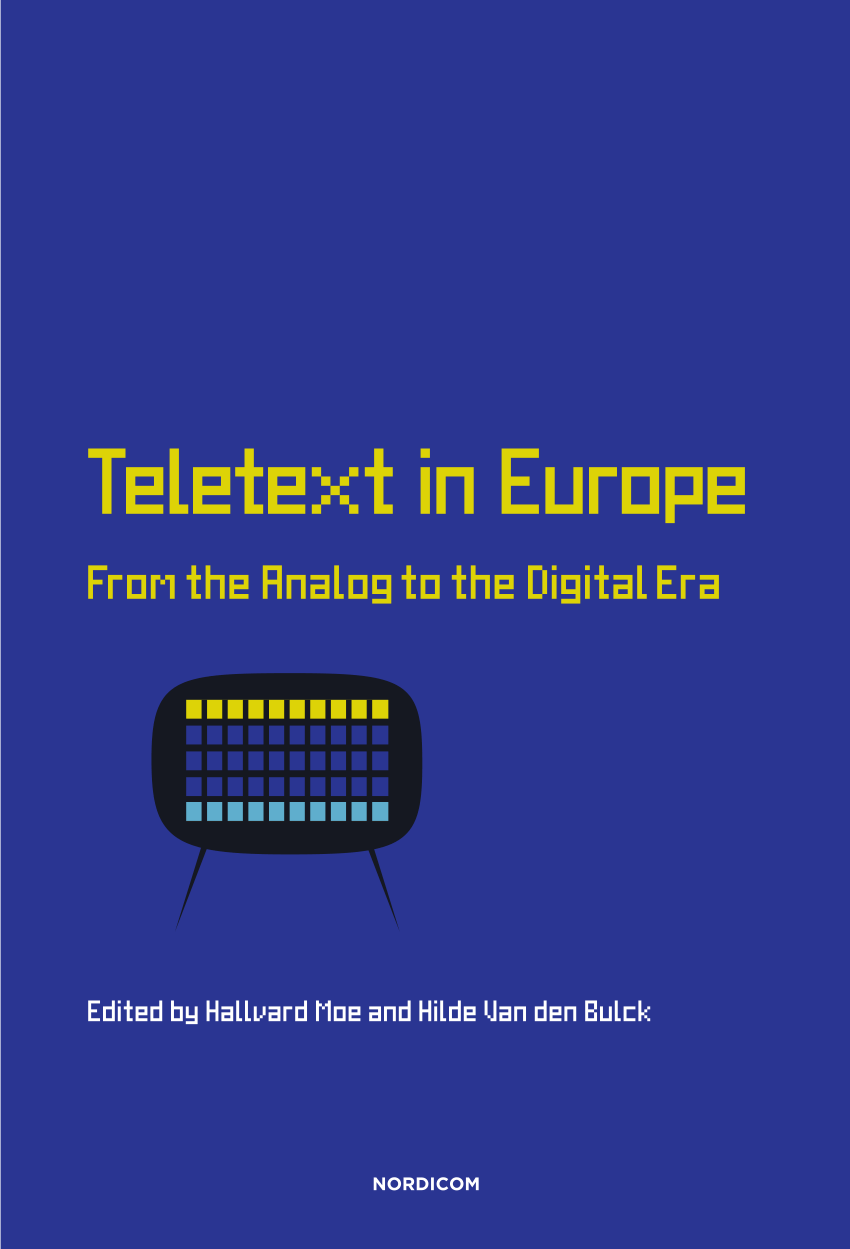 Arte Teletext Online Pdf The Italian Way To Teletext The History Structure And Role