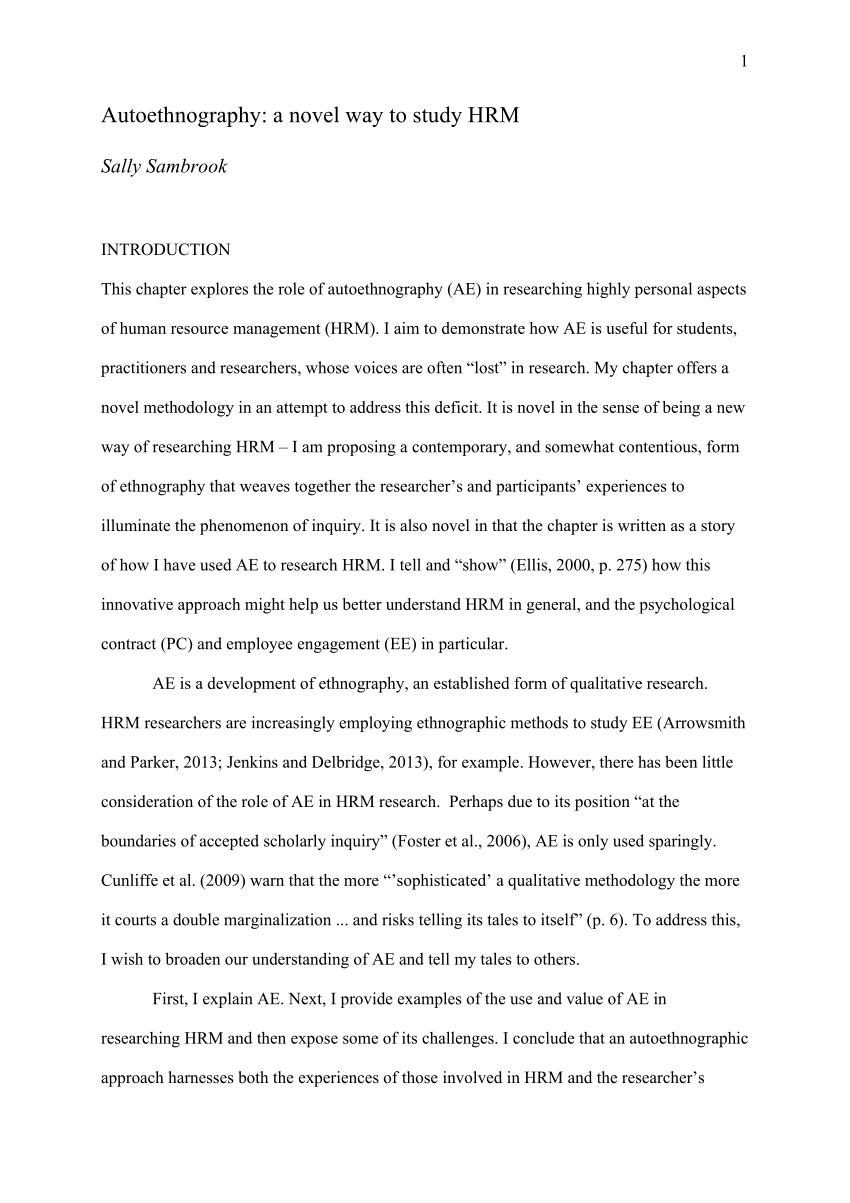 novel essays