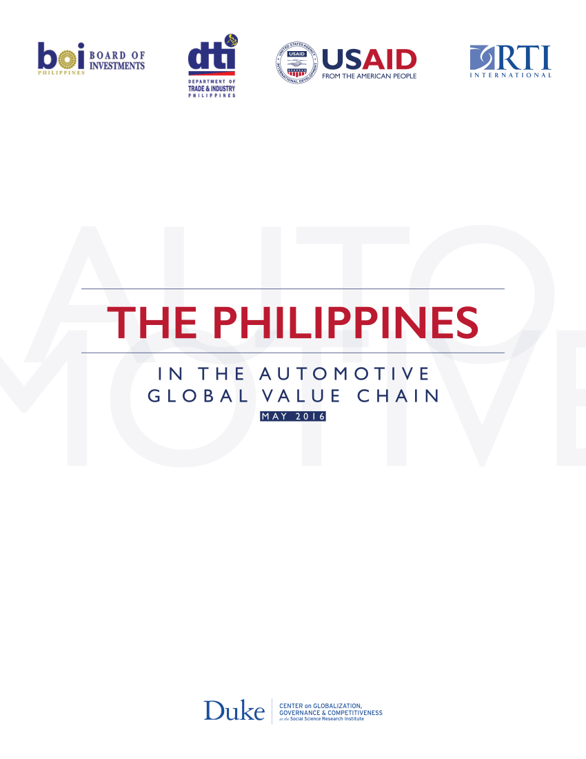 Cash Pool Rüsselsheim Pdf The Philippines In The Automotive Global Value Chain