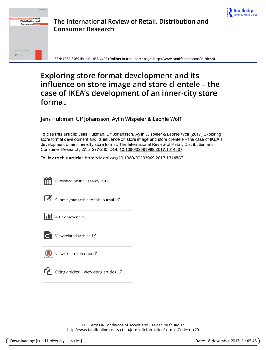 Ikea Grenoble Catalogue An Interaction Approach To Global Sourcing A Case Study Of Ikea