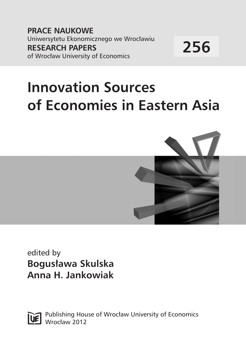 Cash Pool Banken München Pdf Innovation Sources Of Economies In Eastern Asia Prace Naukowe