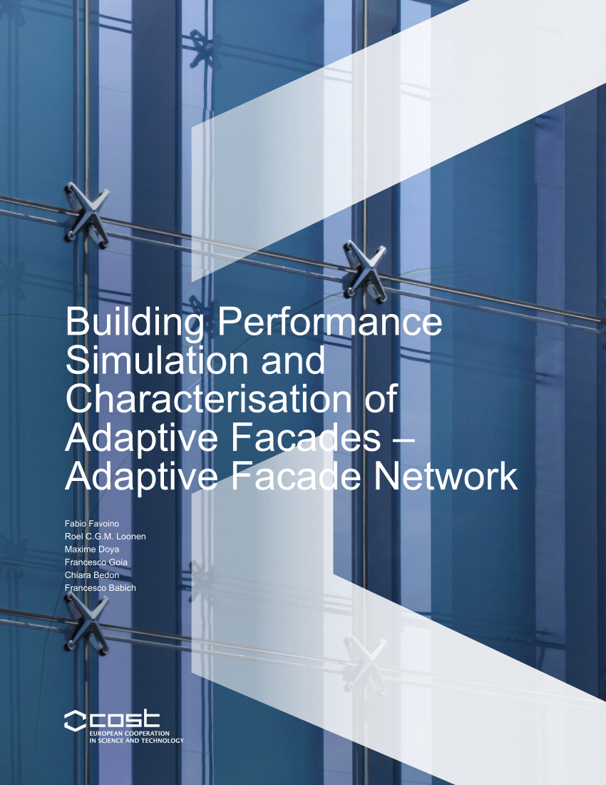 Simulation Facade Pdf Building Performance Simulation And Characterisation Of