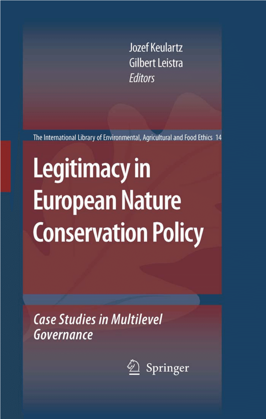Cash Pool Pfronten Pdf Legitimacy In European Nature Conservation Policy Case