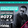#77 Karmic Power Records Radio Show On HouseFM.NET mixed by Lenny Fontana 28. November 2017