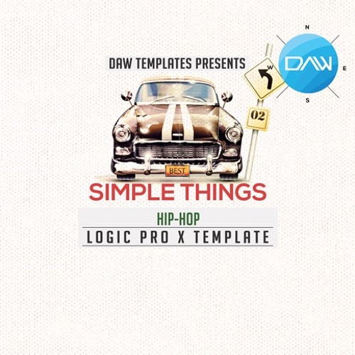 Simple Things Logic Pro X Template by Logic Pro X Templates Free