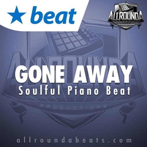 Instrumental - GONE AWAY - (Soulful Piano Beat by Allrounda) by