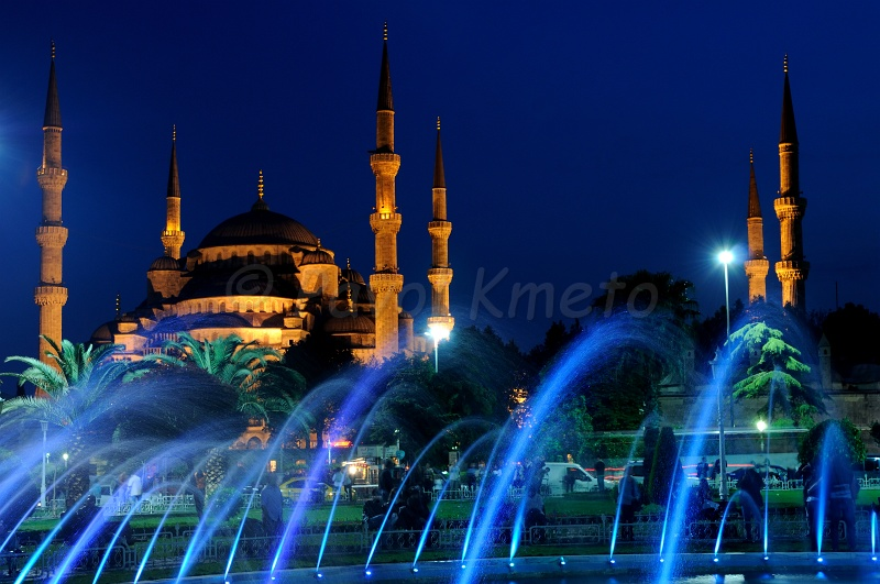 Kaaba Wallpaper Hd Blue Mosque At Night A Photo From Istanbul Marmara