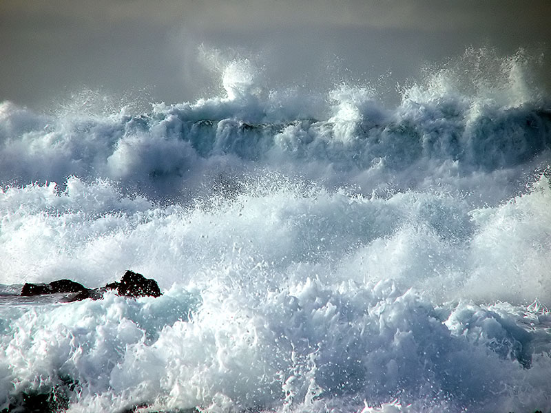 Animated Ocean Wallpaper Water Power A Photo From California West Trekearth