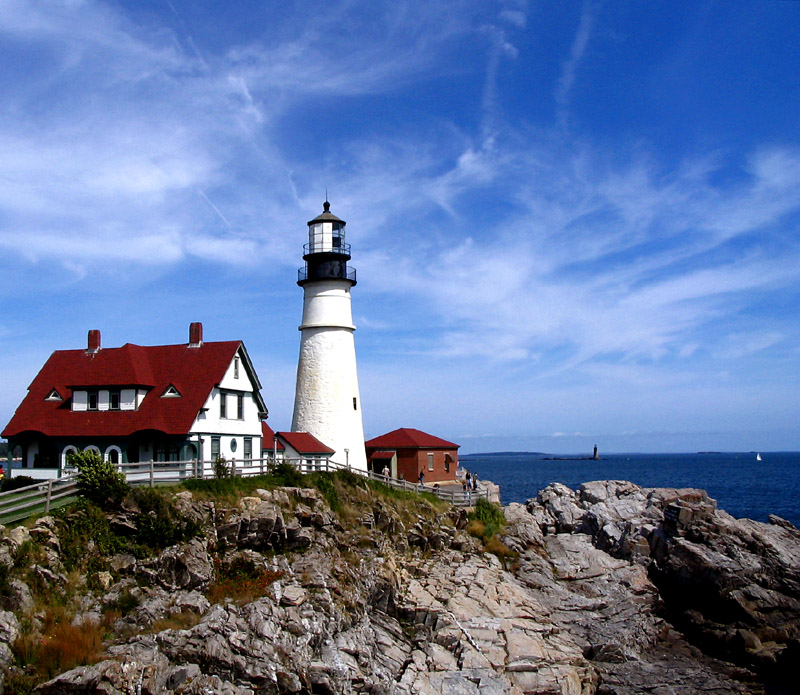 Portland Or Fall Had Wallpaper Lighthouse In Maine A Photo From Maine Northeast Trekearth