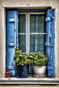 Window, a photo from Lesvos, North Aegean | TrekEarth