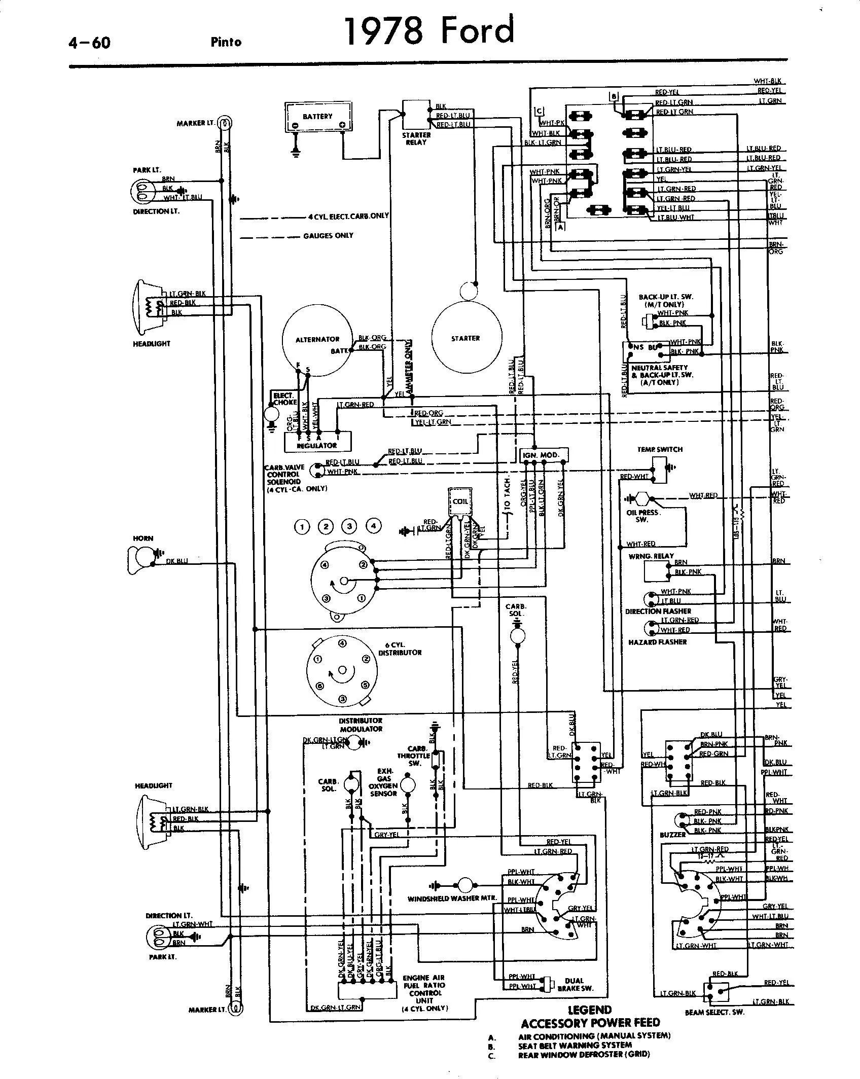ford telstar wiring diagram